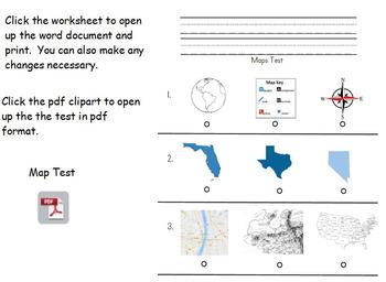 Kindergarten Social Studies Maps Presentation