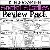 Kindergarten Social Studies Review Pack (Back to School)