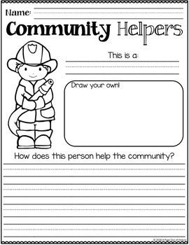 Kindergarten Social Studies Review Pack (Back to School)