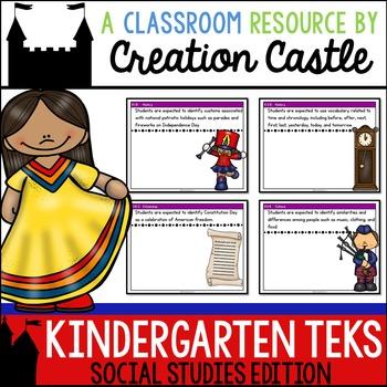 Kindergarten Social Studies TEKS