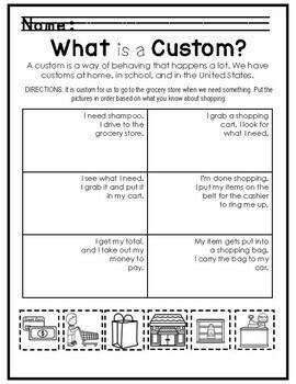 Kindergarten - Social Studies - Unit 1 - History, Geography