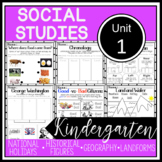 Kindergarten - Social Studies - Unit 1 - History, Geography