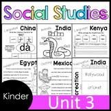Kindergarten - Social Studies - Unit 3 - Culture, Past and Present