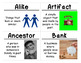 Kindergarten Social Studies Vocabulary Cards: Families, Change, and Time