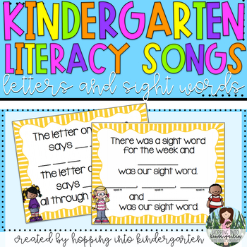 Kindergarten Songs - The Letter on the Bus and Word of the Week