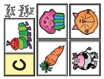 Kindergarten Sound Sorts