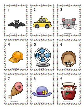 Kindergarten-Literacy-Sp. Ed.- CVC Spring Game Level 1 & 2