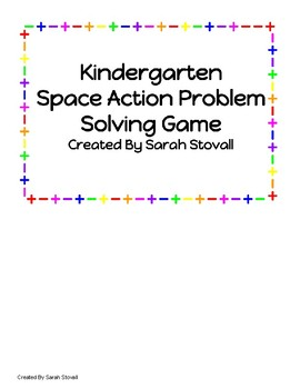 Kindergarten Space Action Problem Solving Game