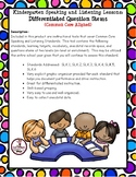 Kindergarten Speaking and Listening Question Stems and Anecdotal Records