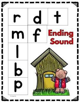 Ending Sound - The Three Little Pigs