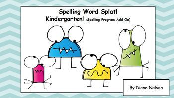 Kindergarten Spelling Full Year Program! Bundle!