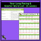 Kindergarten Spelling Word Lists and Assessments EDITABLE {year-long bundle}