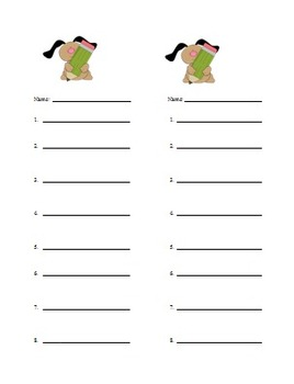 Kindergarten Spelling lists: based on onsets and rhymes 24 sequenced lists
