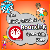 PE Games for K-2 - Bouncing lessons: Sport Skills & Games pack