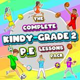 Kindergarten Sport - The Complete PE LESSONS Skills & Game