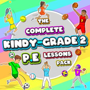 Kindergarten to Grade 2 PE Sport Lessons - Complete Skill