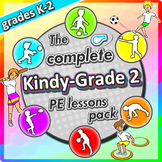 Kindergarten Sport - The Complete PE LESSONS Skills & Game