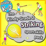 PE Games for K-2 - Striking lessons: Sport Skills & Games pack