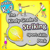 PE Games for K-2 - Striking lessons: Sport Skills & Games pack
