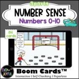 Kindergarten Sports Math Boom Cards™ | Number Sense Boom C