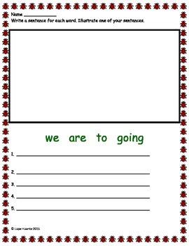 Kindergarten Spring Math and Reading Activities