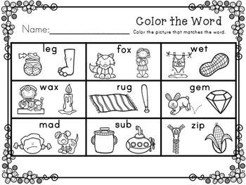Kindergarten Spring Activities - Math and Literacy - NO PREP