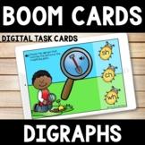 Kindergarten Spring Boom Cards  -  Digraphs Bug Explorer
