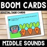Kindergarten Spring Boom Cards  -  Middle Sound Carrots
