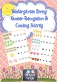 Kindergarten Spring Counting & Number Recognition FREEBIE!