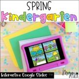 Kindergarten Spring Digital Bundle for Google Slides Dista