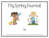 Kindergarten Spring Journal