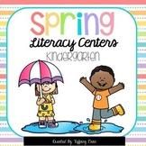 Kindergarten Spring Literacy Centers