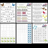 Kindergarten Spring Math / Lit Worksheets and Activities