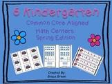 Kindergarten Spring Math Stations
