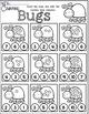 Kindergarten Spring Math and Literacy Worksheets