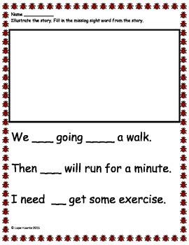Kindergarten Spring Math and Reading Activities Sample Freebie