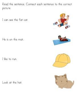 Kindergarten Spring Vacation Packet