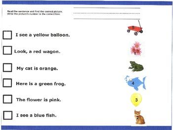 Kindergarten Spring Worksheets