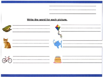 Kindergarten Spring Worksheets