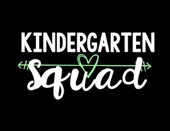 Kindergarten Squad Background