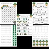 Kindergarten St. Patrick's Day Worksheets / Activities
