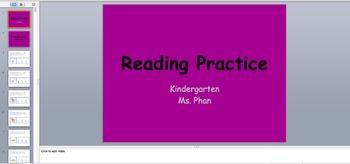 Kindergarten Standardized Test Practice for ELA and Math