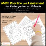 Standardized Test Practice Kindergarten or 1st Grade