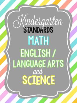 Kindergarten Standards!