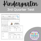 Kindergarten Standards Based Assessment - 3rd Quarter