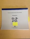 Kindergarten Standards-Based Record Book- FLORIDA STANDARDS