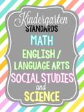 Kindergarten Standards for Illinois!