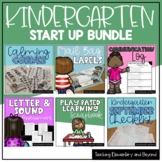 Kindergarten Start Up Bundle & Assessment Bonus {Ontario FDK}