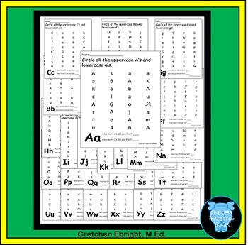 Kindergarten Start the Year Packet