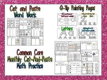 Kindergarten Starter Kit: Common Core and MORE!!